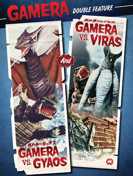 Gamera vs. Gyaos / Gamera vs. Viras Noriaki Yuasa