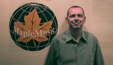 Kim Cooke General Manager of Maple Music Recordings