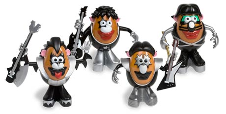 Kiss Get Mr. Potato Makeover