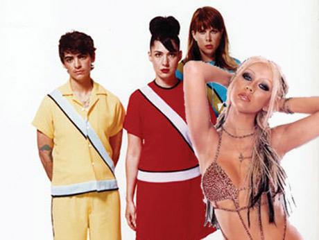 WTF? Le Tigre Collaborating with Christina Aguilera