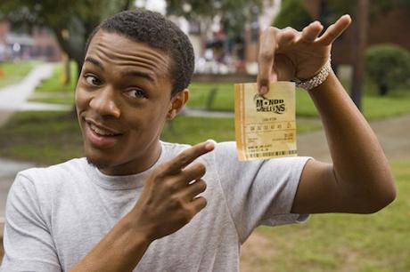 Lottery Ticket Erik White