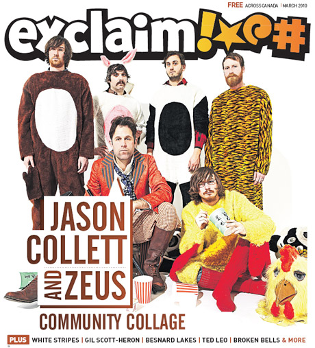 Jason Collett, Broken Bells, Gil Scott-Heron, Ted Leo and More Grace the Pages of Exclaim!'s March Issue