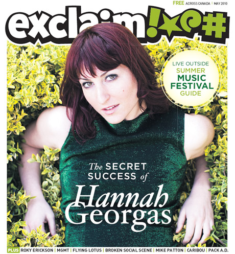 Get into Spring with Hannah Georgas, Roky Erickson, Flying Lotus, Cancer Bats and More in Exclaim!'s May Issue