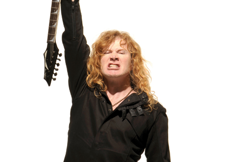 Megadeth's Dave Mustaine Collapses Before Russian Gig