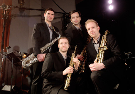 Prism Quartet Bolcom/Mackey Concertos for Saxophone Quartet