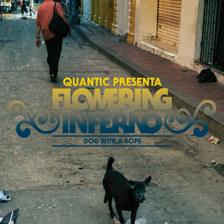 Quantic Presents Flowering Inferno Dog with a Rope