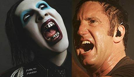 "Trent Reznor Hates on Marilyn Manson, Calls Him a ""Dopey Clown"""