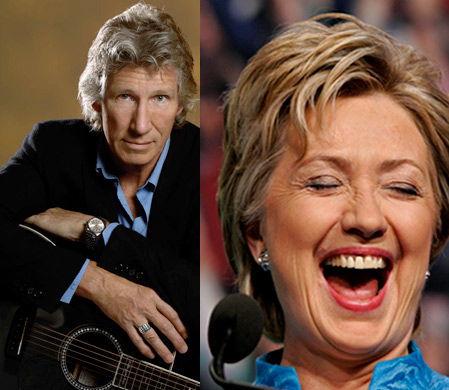 Roger Waters Thinks Hillary Clinton Will Invade Iran