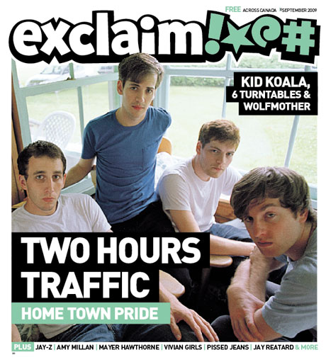 Ring in the Fall with Two Hours Traffic, Jay-Z, Amy Millan, Vivian Girls and More in Exclaim!'s Hot-off-the-Presses September Issue