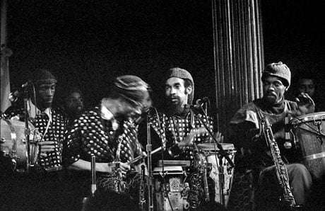 The Sun Ra Arkestra Points On A Space Age