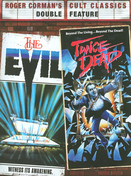 Roger Corman's Cult Classics Double Feature: The Evil / Twice Dead