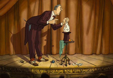 The Illusionist Sylvain Chomet