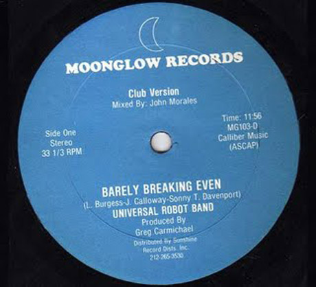 """Universal Robot Band """"Barely Breaking Even"""" (Club Version)"""