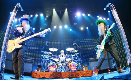 ZZ Top Live From Texas