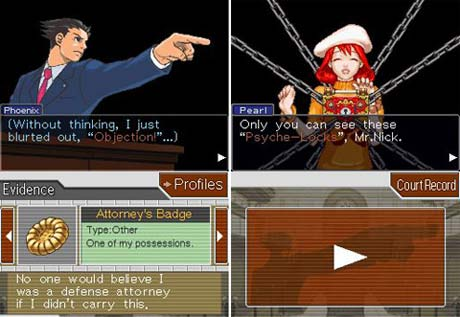 Phoenix Wright: Ace Attorney - Justice for All DS