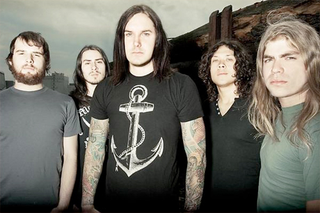 As I Lay Dying's Guitarist Gets Nailed With Whiskey Bottle