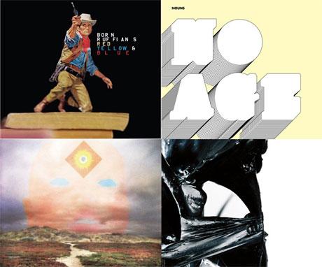 Born Ruffians, No Age, High Places, Up For Best Album Art