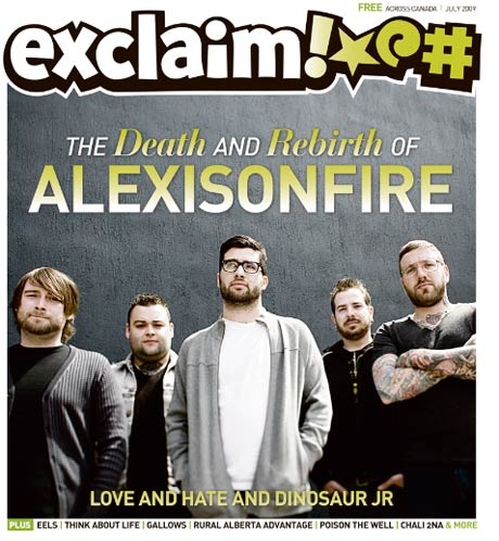 Ring in the Summer with Alexisonfire, Dinosaur Jr., Eels, Major Lazer and a Whole Lot More in Exclaim!'s Boiling Hot July Issue