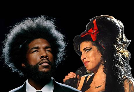 "Amy Winehouse Hints at ""S-up-er g r o u p"" with the Roots' Questlove; Run-DMC Reuniting for the Roots Picnic?"