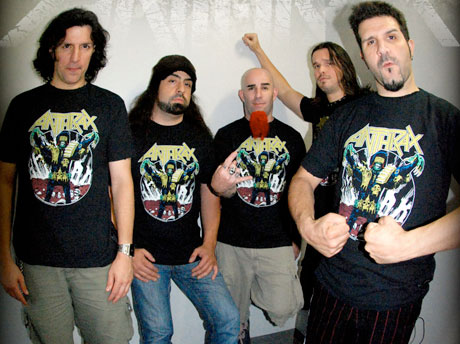 Anthrax Record New Album, Reissue <i>Fistful of Metal</i>
