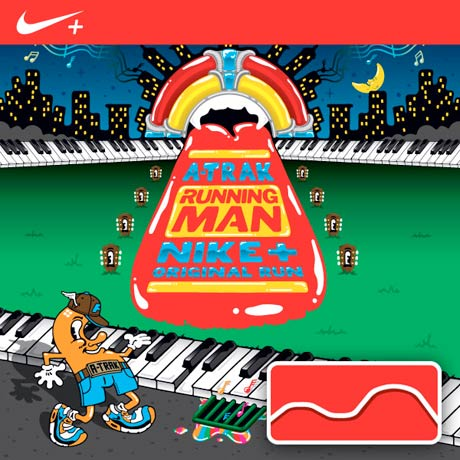 A-Trak Does the <i>Running Man</i> For Nike's Original Run Series