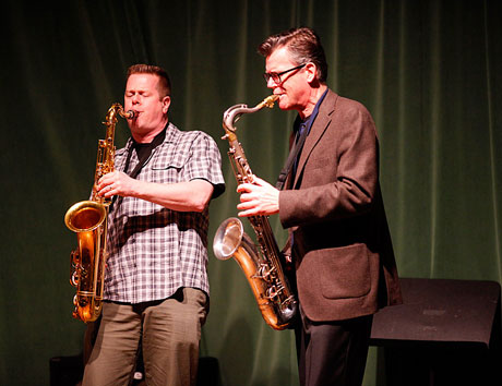 Ab Baars Trio and Ken Vandermark Hallwalls Gallery, Buffalo NY April 21