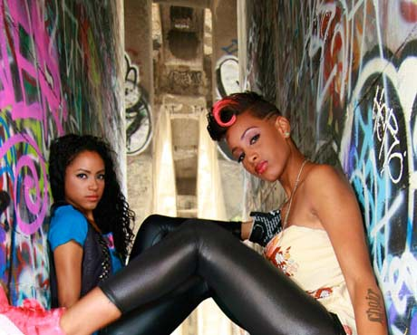 Ella Ann of L.A. Rap Duo the Bangz Shot and in Critical Condition