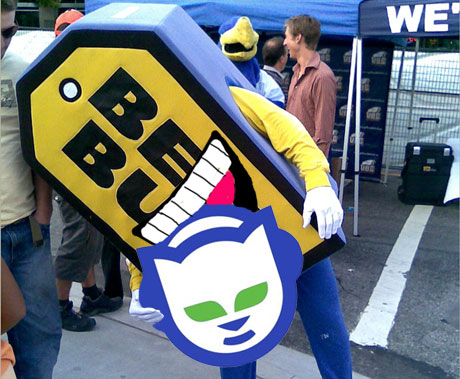 Napster Sold to Best Buy