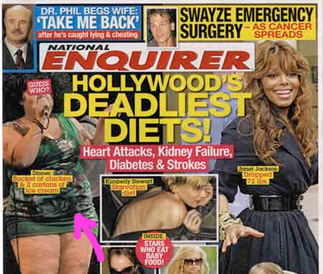 WTF!? The Gossip's Beth Ditto Appears On <i>National Enquirer</i> Cover