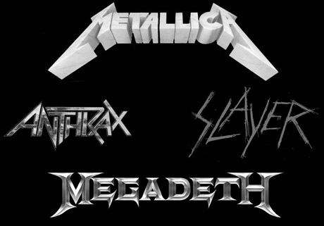"Metal's ""Big Four"" (Metallica, Megadeth, Slayer, Anthrax) Hitting the U.S. for One-off Show"