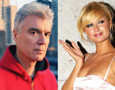 David Byrne Trashes Paris Hilton in New Bike Book
