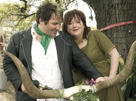 Caitlin Cary & Thad Cockrell Begonias
