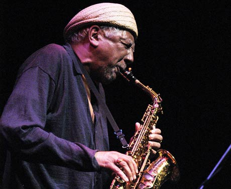 Charles Lloyd's Sangam Theatre Jean-Duceppe, Place Des Arts, Montreal QC, June 29