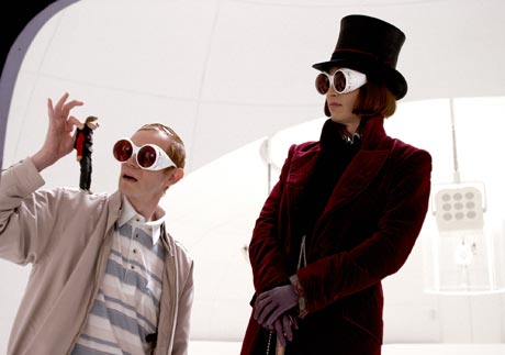Charlie and the Chocolate Factory [Blu-Ray] Tim Burton