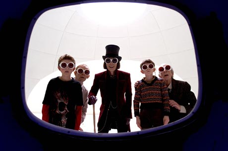 Charlie and the Chocolate Factory Tim Burton