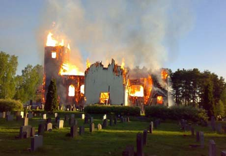 History Repeats Itself: Black Metal Satanists Blamed for Church Burnings in Norway