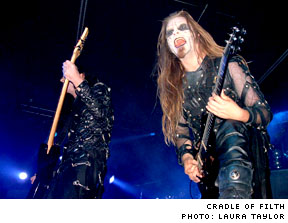 Cradle Of Filth / Shadows Fall The Guvernment, Toronto ON - August 12, 2003