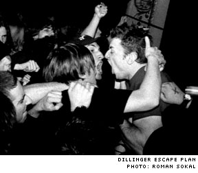 Dillinger Escape Plan / Every Time I Die / Silverstein Opera House, Toronto ON - April 10, 2003
