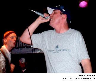 Peg City Holla Pyramid Cabaret, Winnipeg MB - August 20 to 21, 2004