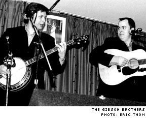 The Gibson Brothers / Level Crossing Legion 614, Scarborough ON - March 23, 2003