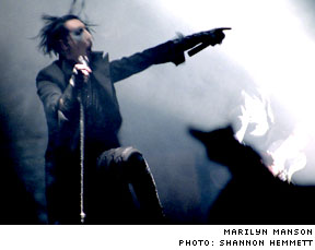 Marilyn Manson The Orpheum Theatre, Vancouver BC - July 11, 2003