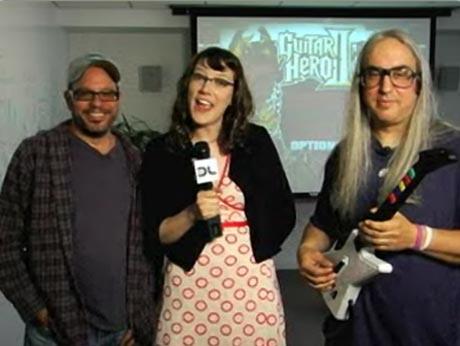 <i>Guitar Hero II</i> Showdown: David Cross vs J Mascis