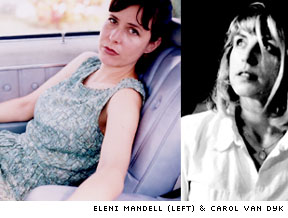 Country Time for <b>Eleni Mandell</b> and Carol Van Dyk