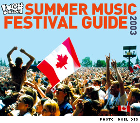 Exclaim! Summer Music Festival Guide 2003