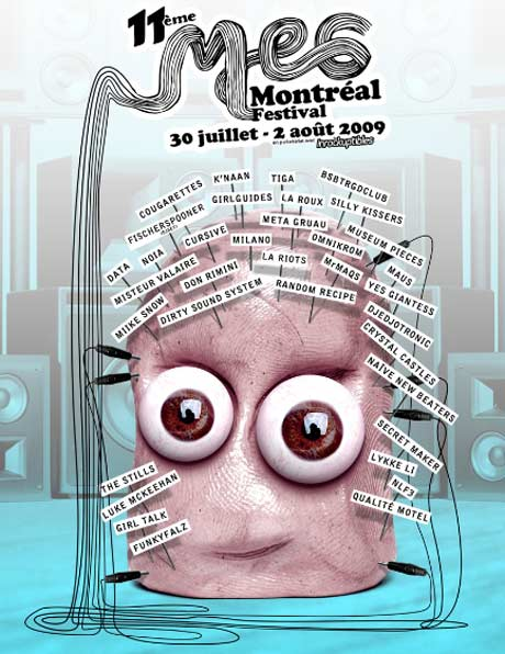 "MEG Montreal Festival Ropes in Crystal Castles, Lykke Li, Girl Talk and More ""Parallel"" Pop Acts"