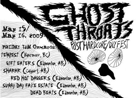 Edmonton Launches Ghost Throats Post-Hardcore Fest This Weekend