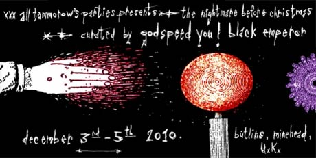 Godspeed You! Black Emperor End Hiatus to Curate ATP's Nightmare Before Christmas