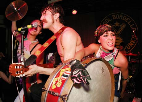 Gogol Bordello The Drake Hotel, Toronto ON - February 15, 2006
