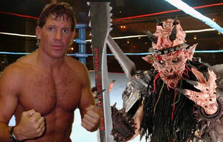 Gwar's Oderous Urungus Goes Toe-to-Toe with Pro Wrestler Tracy Smothers