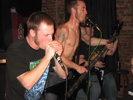 Heaps of Dead / Blastomycosis / Abyssal Throne / The Unborn Dead Blue Moon, Toronto ON April 17